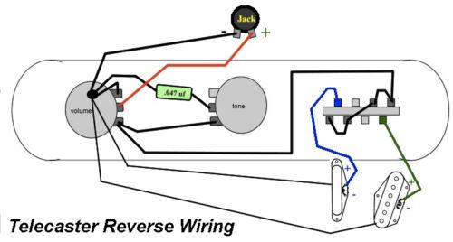 reversed telecaster u00ae usa wiring harness for fender tele